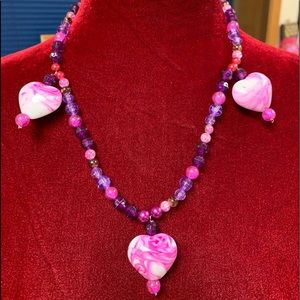 Jewelry - Handmade necklace for valentines